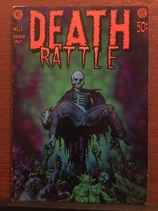 Death Rattle Vol. 1 #1 Kitchen Sink 1972 Richard CORBEN 👀 Underground Comix 💀