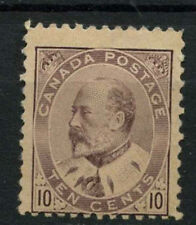 Canada 1903-12, 10c Purple, KEVII MH #A74208