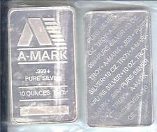 10toz NEW A-MARK BAR.  IN MINT PACKING