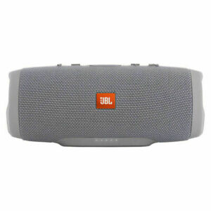 JBL Charge 3 Portable Bluetooth Speaker - Gray-BRAND NEW