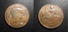 IIIème République - 10 centimes Daniel Dupuis 1904 - F.136/14