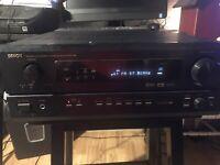 DENON Precision Audio Component AV Surround Receiver AVR-1800 Tested