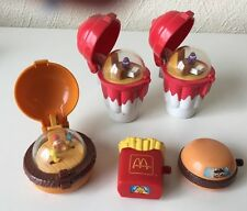 Mcdonalds - Happy Meal - 2 Ice Cream - Fries and 2 Burgers - All in working orde