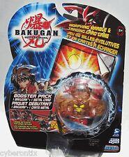 Bakugan CLEAR Brown REAPER Battle Brawlers Subterra Tan Toy Figure B1 Series New