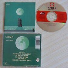 RARE CD ALBUM CRISES MIKE OLDFIELD 6 TITRES MADE IN UK VIRGIN CD VIP 118 1983
