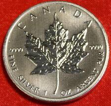 CANADIAN MAPLE LEAF 2012 DESIGN 1 oz .999% SILVER ROUND BULLION COLLECTOR COIN