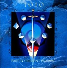PAST TO PRESENT 1977-1990 BY TOTO (CD, 1990, Sony Music Distribution)