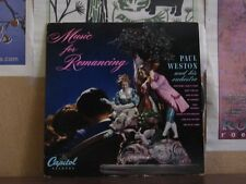 "PAUL WESTON, MUSIC FOR ROMANCING - 10"" H153"