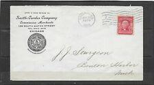 Antique 1905 Smith-Cordes Company, Chicago, IL Advertising Cover Merchants