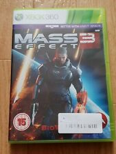 ×× SUPER JEU VIDEO XBOX 360 - MASS EFFECT 3  ×× notice jouable avec kinect