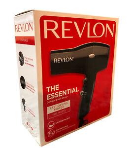New Revlon The Essential Blow Dryer - Compact 1875 Watts Ultra Lightweight