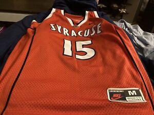 Vintage Carmelo Anthony Nike Syracuse Orange Basketball Swingman Jersey Medium M