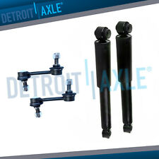 4pc Rear Shocks & Sway Bar Link for 2007 2008 2009 Hyundai Santa Fe 2.7L 3.3L