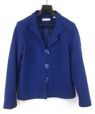 Coldwater Creek Women's Jacket Stretch Size PM 10-12 Button Front Blazer Coat