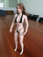 DIY Match 1/6th Woman Phicen suntan body female Figure w/ KT008 Head Model