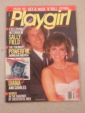 Vintage Playgirl Magazine 1986 March Sally Field