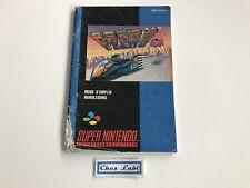 Notice - F-Zero - Super Nintendo SNES - PAL FAH 1