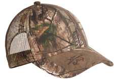NEW PORT CAMO Hunting Cap Mesh Back Baseball Trucker Hat Realtree XTRA Mossy Oak