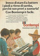 X4911 Organi elettrici BONTEMPI - Pubblicità 1976 - Advertising