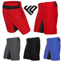 Men's Cycling MTB Shorts Downhill Bike Off Road Mountain Bike Casual Biking UK