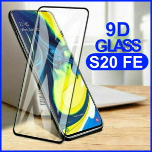 Tempered Glass Screen Protector 9D Full Cover For Samsung Galaxy S20 FE