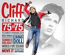 CLIFF RICHARD - 75 AT 75: 3CD ALBUM SET (September 18th 2015)