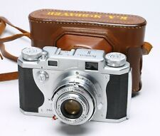 KONICA II 35MM FILM RANGEFINDER CAMERA + HEXANON 50MM F/2.8 LENS #46503