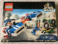 LEGO 7186 Star Wars Watto's Junk Yard - Rare And Sealed - NEW