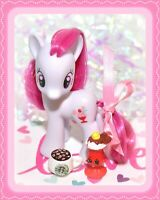"❤️My Little Pony 3"" Brushable Playful Plumsweet Original Traveling Single G4❤️"