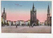 Kortrijk Groote Markt Belgium Vintage Postcard 356b