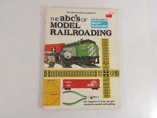 The ABC's of Model Railroading from Model Railroader Kalmbach Books