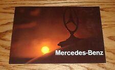 Original 1968 Mercedes Benz Full Line Sales Brochure 68 280SE 220 250