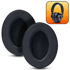 Wicked Cushions Replacement Ear Pads For Audio Technica ATH M50X - Black