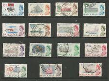 BAHAMAS SG247-61 THE 1965 QE2 SET OF 15 FINE USED