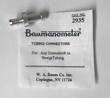 W.A Baum Tubing Connector for Any Extendex to StraigTubing. #2935