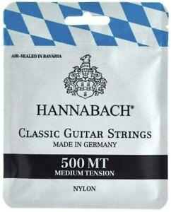 HANNABACH 500HT HARD TENSION - CORDE PER CHITARRA CLASSICA