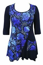 Machine Washable Casual Floral Size Regular Tops & Blouses for Women
