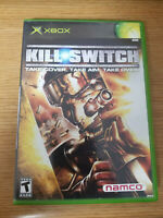 Original Xbox KILL SWITCH (Original Xbox Video Game) Complete