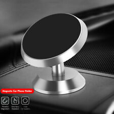 Silver Magnet Phone Car Holder Magic Magnetic Stand Mount For Phones Universal