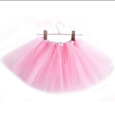 Princess Tutu Skirt Girls Kids Party Ballet Dance Wear Dress Pettiskirt Costumes