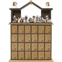 """Precious Moments"""" O Come Let Us Adore Him Nativity Advent Calendar (Set of 26..."""