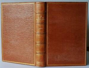 Sir Edward Burne-Jones : A Record & Review by Malcolm Bell, 1899 - Fine binding
