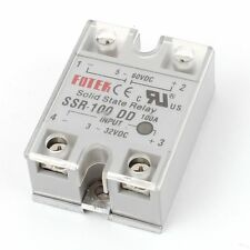 Solid State Relay Module SSR-100 DD DC-DC 100A 3-32VDC/5-60VDC