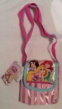 Disney Princess Pink Small Shoulder Nursery Bag Ariel Rapunzel Cinderella Belle