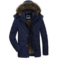 New Fashion Thick Casual Outwear Jackets Men's Warm Coat Winter Jacket