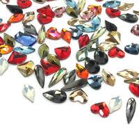 10 Assorted Mixed Colors & Sizes Swarovski Special Shapes Flatbacks nail art