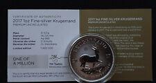 Südafrika - 1 Rand 2017 - 50 Jahre Krügerrand - 1 Oz Silber  2X