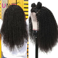 Afro Kinky Curly Wig 13x4 Lace Front Human Hair Wig For Women Mongolian Hair Wig