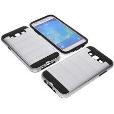 PARACHOQUES DE ALUMINIO PARA SAMSUNG GALAXY J5 Smartphone Funda protectora tpu