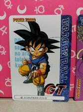 dragon ball gt pp card cards parte 30 n 07